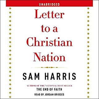 Letter to a Christian Nation audiobook cover art