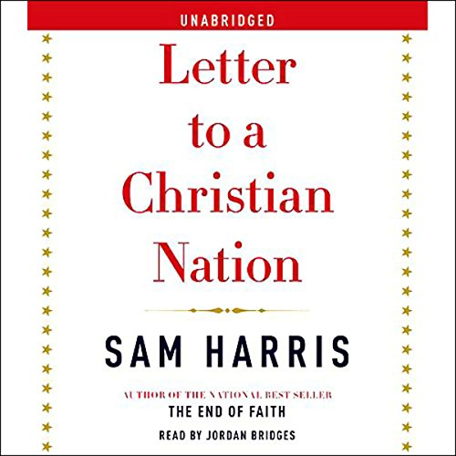 Couverture de Letter to a Christian Nation