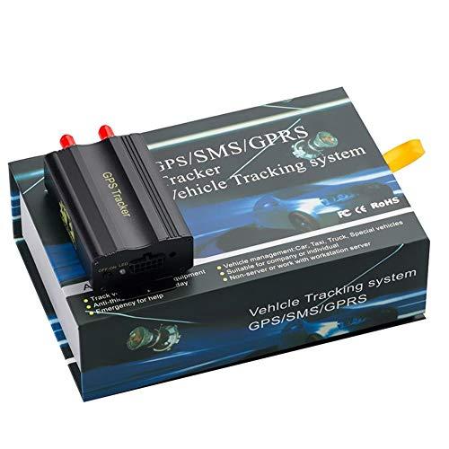 GPS Tracker TK103A, controllo del PC version software Google Maps Link Real Time Tracking app scanner, GPS Car Tracker con GPRS e veicolo sistema di protezione antifurto