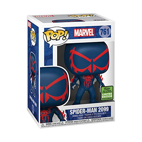 Funko Pop! 51289 Marvel Spider-Man 2099 Vinyl Figure (2021 Spring Convention Exclusive) #761
