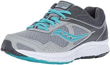 Saucony Women's Cohesion 10 Running Shoe, Grey Blue, 10 Medium US