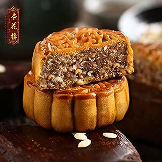 老上海味道 China time-honored brand(杏花楼 五仁月饼 100g×6个 Five kernel mooncake)广式月饼散装 传统糕点 Chinese Ltd