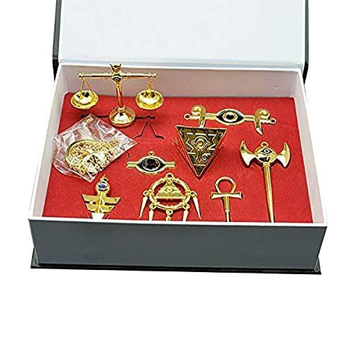 Fuman Yu-Gi-Oh! Millennium Artifact Duel Monsters Schlüsselanhänger Kette 8 Stück Set