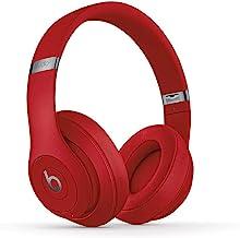 BeatsStudio3Wireless con cancelación de ruido - Auriculares supraaurales - Chip Apple W1, Bluetooth de Clase1, cancelación activa del ruido, 22horas de sonido ininterrumpido - Rojo