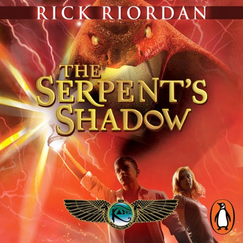 The Serpent's Shadow: The Kane Chronicles, Book 3 cover art