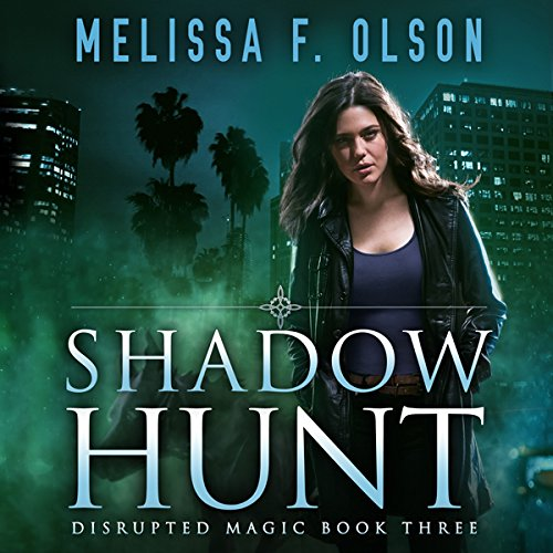 Shadow Hunt audiobook cover art