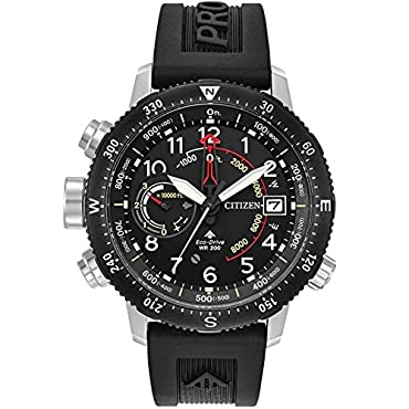 Citizen Men's Promaster BN5058-07E Altichron Rubber Strap Watch