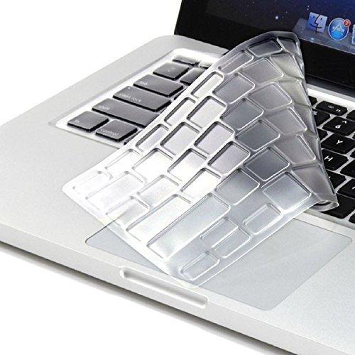 LEZE - Ultra Thin Soft Keyboard Protector Skin Cover for Acer Aspire VX 15 VX5-591G, Aspire V15 VN7-593G,Predator Helios 300,Aspire V17 VN7-793G Gaming Laptop US Layout - Clear
