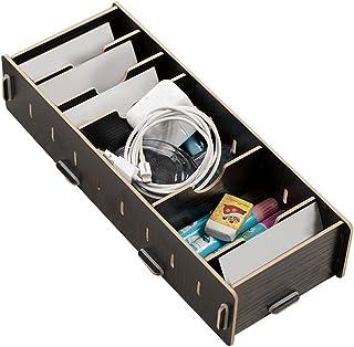 Boîte de rangement de bureau, boîte de rangement écologique pour cartes de visite, étanche à l'humidité pour ranger les ca...