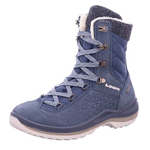 Lowa W Calceta II GTX Blau, Damen Gore-Tex Winterschuh, Größe EU 37.5 - Farbe Jeans