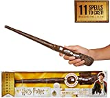 HARRY POTTER 39899, Ron Weasley Wizard Training 11 Spells to Cast Official Toy Wand with Lights & Sounds