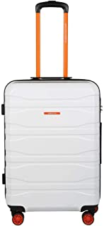 United Colors of Benetton Polycarbonate 66.5 cms White Hardsided Check-in Luggage (0IP6MP24HL09I)