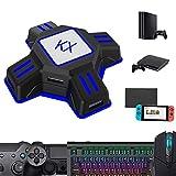 Convertidor de Teclado y Ratón Adaptador de Controlador de Gamepad KX...