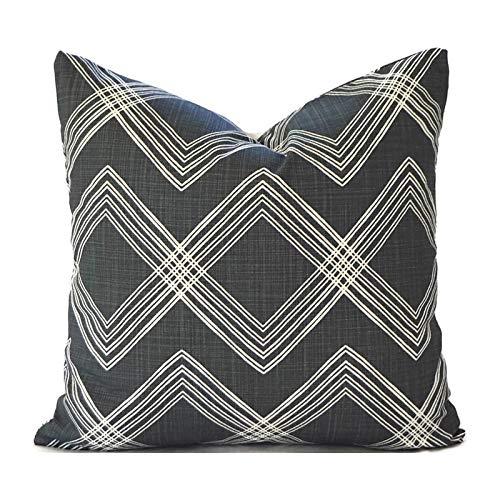 Flowershave357 Black Pillow Covers Decorative Pillows Pillow Inserts Best Pillow Floor Pillows Euro Pillows Premier Prints Colton Black Flame Slub