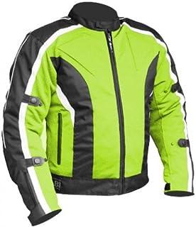 Bikers Gear Australia Men's Chicane Summer Waterproof Meshtech Motorcycle Jacket with Removable CE Armour