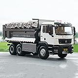 NAMFZX 1:24 Alloy Engineering Vehicle LKW Schwerlast-LKW-Kipplaster Spielzeugauto-Modellbau-LKW-Tür...