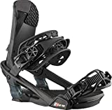 Salomon Alibi Pro Mens Snowboard Bindings Black Metallic Sz M (7-9.5)
