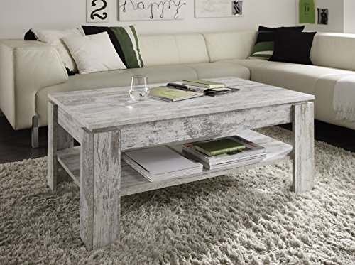 Trendteam CT11245 Coffee Table Canyon White Pine