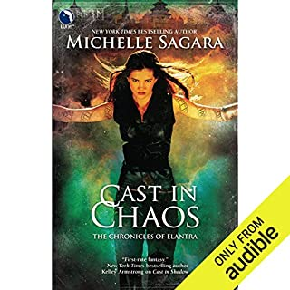 Cast in Chaos     Chronicles of Elantra, Book 6              Written by:                                                                                                                                 Michelle Sagara                               Narrated by:                                                                                                                                 Khristine Hvam                      Length: 17 hrs and 17 mins     2 ratings     Overall 5.0