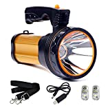 Römer LED Rechargeable Handheld Searchlight High-power Super Bright 9000 MA 6000 LUMENS C...