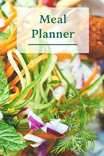 Meal Planner: 6x9 Inches Family meal planner inventory and shopping list