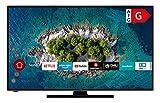 HITACHI U55K6100 Smart TV de 55 pulgadas (139 cm) I Televisor (4K Ultra HD, HDR10, Dolby Vision HDR, sintonizador triple, Alexa, Bluetooth, HD+) I WiFi Streaming Prime Video, Netflix, YouTube UVM