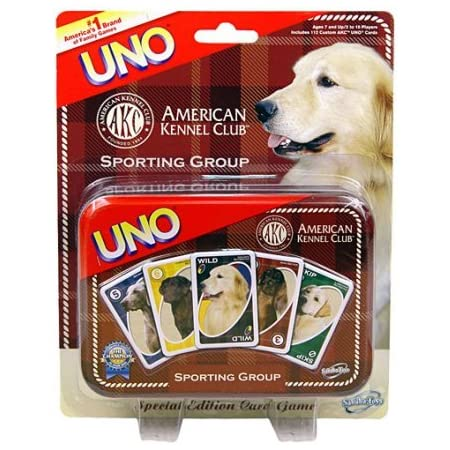 American Kennel Club UNO Cards Sporting Group