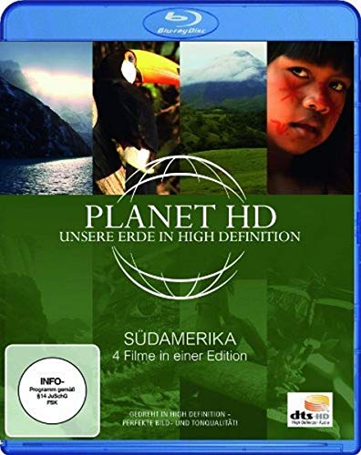 Planet HD - Unsere Erde in High Definition: Südamerika [Blu-ray]