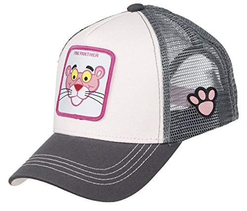 Capslab Pink Panther Trucker Cap Pink Panther Rose/Grey - One-Size