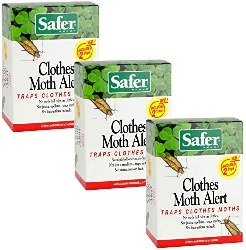 Safer 07270 AMAZ Clothes Moth Trap 3 Pack 6 product image