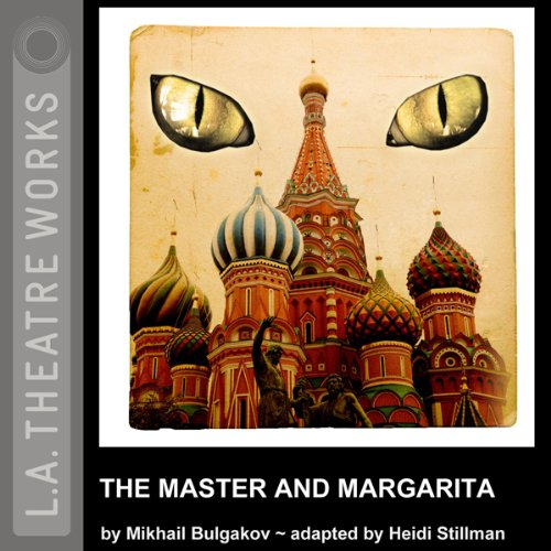 The Master and Margarita (Dramatized)                   By:                                                                                                                                 Mikhail Bulgakov                               Narrated by:                                                                                                                                 David Catlin,                                                                                        Thomas Cox,                                                                                        Lawrence DiStasi,                   and others                 Length: 1 hr and 45 mins     6 ratings     Overall 4.2