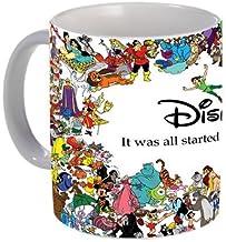 Chhaap Disney Printed Ceramic White Coffee Mug