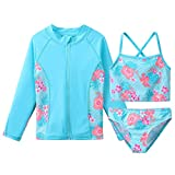 HUAANIUE Girls' Swimwear