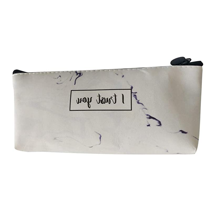 OUBAO Pen Case, Pencil Bag Makeup Pouch Durable Students Stationery Pencil Marker Stationery Organizer Pencil Pouch Pencil Bag Big Capacity Stationery Gift Cute Pencil Box Case School Supplies