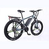 BWJL Aleación de Aluminio de 26 Pulgadas, el Soporte de la batería de Litio de la Bicicleta de Velocidad Variable, Adultos apoya la Electricidad Bicicleta, la batería de Iones de Litio 350W 36.