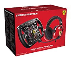 """Headset: Effective stereo technology ensures excellent audio fidelity for the most lifelike reproduction of the sounds of car engines and other surrounding elements Headset: 2""""/50 mm analytic headphone speaker drivers for clear sound with no saturati..."""