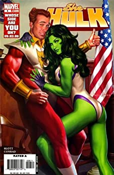 """Comic She-Hulk #6 """"Beaus & Eros, Part 1: I'm With Cupid"""" Book"""