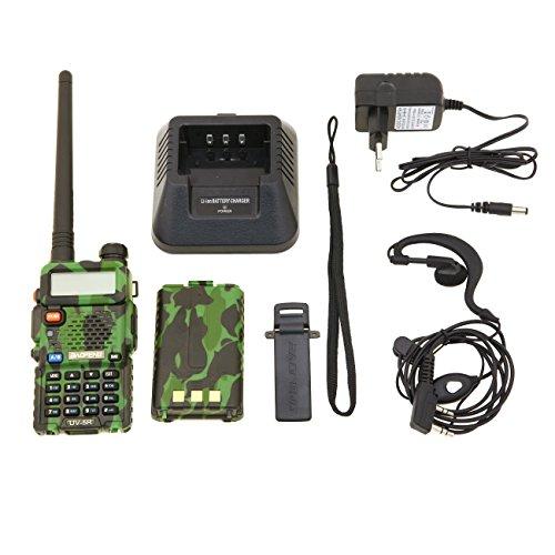 Baofeng UV-5R Radio Dab, diseño de Camuflaje