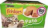 Purina Friskies Cat Food Poultry/Seafood 60 Cans /5.5 Oz Net Wt 330 Oz, 330 oz