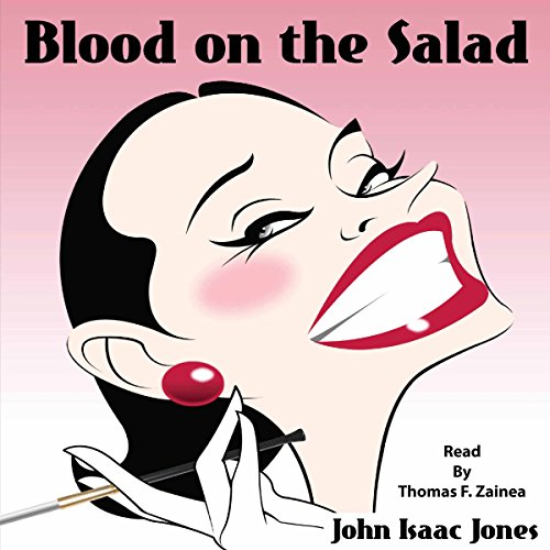Blood on the Salad audiobook cover art