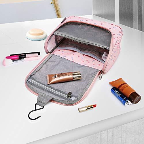 MOUNTAINTOP Kulturbeutel Kosmetiktasche Kulturtasche zum Aufhängen Toiletry Bag Waschtasche für Reise Urlaub, 24 x 9 x 19 cm