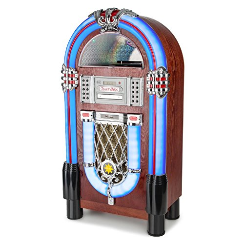 AUNA Graceland TT Jukebox Vintage - Bluetooth, Reproductor