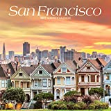 San Francisco 2021 7 x 7 Inch Monthly Mini Wall Calendar, USA United States of America California Pacific West City