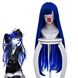 Land Of The Lustrous Houseki No Kuni Lapis Lazuli Wig For Women Girls 80Cm Long Straight Cosplay Wig Anime Costume Party Blue