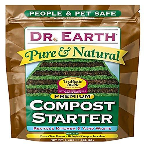 Dr. Earth 727 Compost Starter,Multicolor,3lb