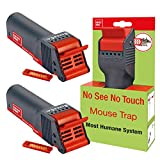 SWISSINNO Mouse Trap No See No Touch, Poison-Free, Effective,...