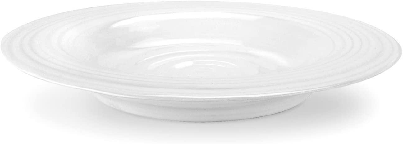 Portmeirion Sophie Conran White Soup 4 of Set Bowl Max 58% OFF Japan's largest assortment