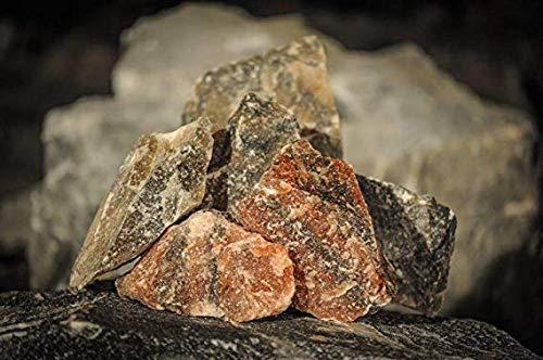 SK Naturbruchsteine, Salzlecksteine im 25kg Sack zur Deckung des Natriumbedarfs geeignet für Rinder, Pferde und Wild, bụndesweit frei Haus