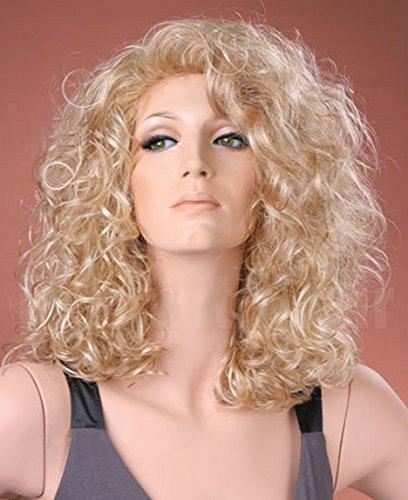 adquirir pelucas rubias rizadas on-line