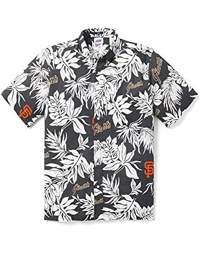 Reyn Spooner San Francisco Giants 2020 MLB Hawaiian Aloha Camp Shirt Aloha Print, Multi, XX-Large